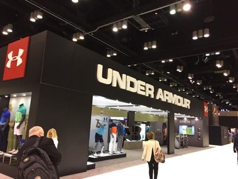 under-armour-PGA-merch-show-booth